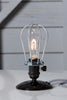 Industrial Desk Light - Wire Cage Table Lamp - Industrial Light Electric - 2