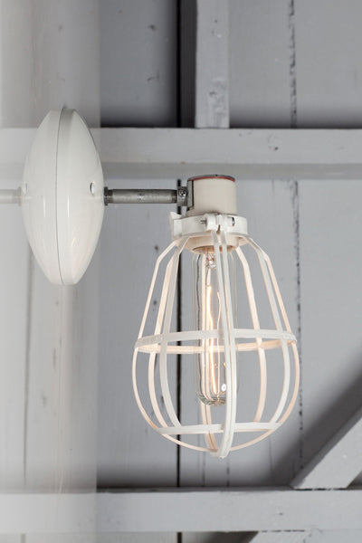 Cage Light Industrial Wall Mount Sconce Industrial