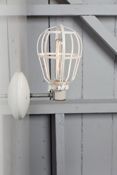 Cage Light - Industrial Wall Mount Sconce - Industrial Light Electric - 1