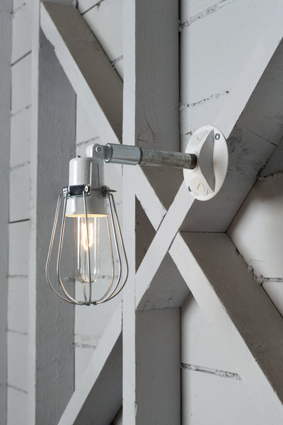 Outdoor Wall Light - Exterior Wire Cage Wall Sconce Lamp - Industrial Light Electric - 1