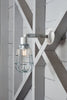 Industrial Wall Light - Outdoor Wire Cage Exterior Wall Sconce Lamp - Industrial Light Electric - 1
