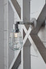 Industrial Wall Light - Outdoor Wire Cage Exterior Wall Sconce Lamp - Industrial Light Electric - 2