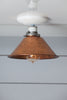 Copper Metal Shade Light - Semi Flush Mount Lamp - Industrial Light Electric - 1