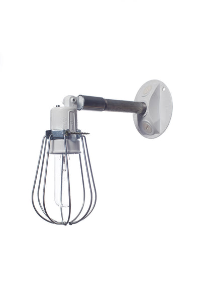 Wall Sconces No Wiring : Outdoor Wall Light - Exterior Wire Cage Wall Sconce Lamp Industrial Light Electric