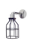 Industrial Wall Light- Outdoor Black Wire Cage Light - Industrial Light Electric - 4