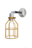 Yellow Cage Light - Exterior Wall Mount Sconce - Industrial Light Electric - 5