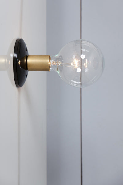 Industrial wall sconce industrial light electric brass wall sconce light aloadofball Choice Image