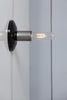 Brass - Steel Wall Sconce Light - Industrial Light Electric - 6