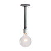 Pendant Pipe Light - Bare Bulb Lamp - Industrial Light Electric - 5
