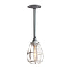 Pendant Cage Pipe Light - Industrial Light Electric - 5