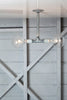 Pendant Pipe Light - Double Bare Bulb Lamp - Industrial Light Electric - 3