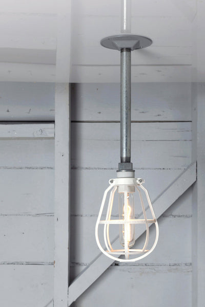 Pendant Cage Pipe Light - Industrial Light Electric - 1