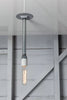 Pendant Pipe Light - Bare Bulb Lamp - Industrial Light Electric - 2