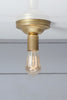 Mid Century Ceiling Light Edison Bulb