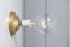 Brass Wall Sconce - Bare Bulb - Industrial Light Electric - 9
