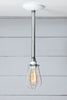 Wire Cage Pipe Pendant Light