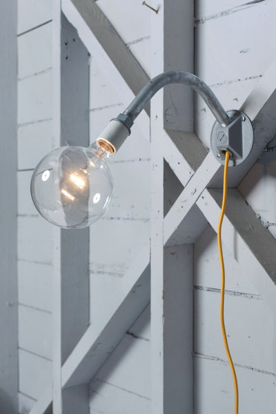 Industrial Wall Light - Plug In - Industrial Light Electric - 1