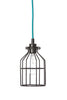 Industrial Pendant Lighting - Black Wire Cage Light - Industrial Light Electric - 2