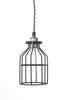 Industrial Pendant Lighting - Black Wire Cage Light - Industrial Light Electric - 3