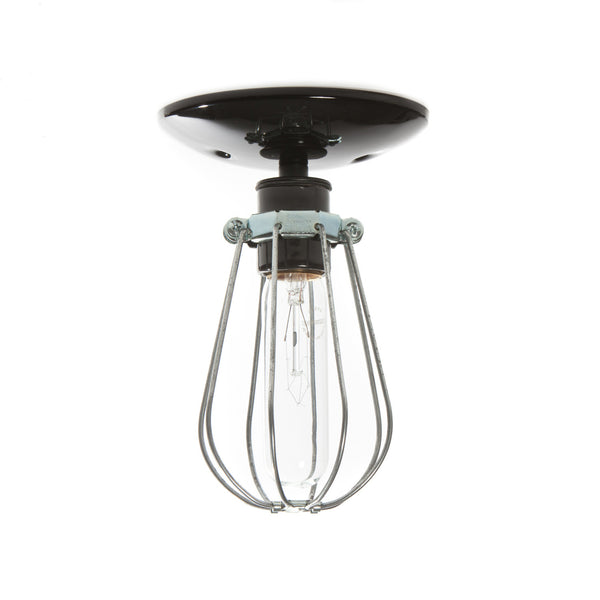 Industrial Modern Lighting Wire Cage Light Ceiling