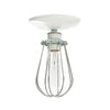 Industrial Modern Lighting - Wire Cage Light - Ceiling Mount - Industrial Light Electric - 3