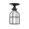 Industrial Lighting - Black Cage Light - Ceiling Mount - Industrial Light Electric - 2