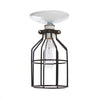 Industrial Lighting - Black Cage Light - Ceiling Mount - Industrial Light Electric - 3
