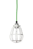 Industrial Modern Pendant - White Cage Light - Industrial Light Electric - 3