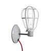 Industrial Wall Mount Sconce - Plug In - Modern Cage Light - Industrial Light Electric - 3