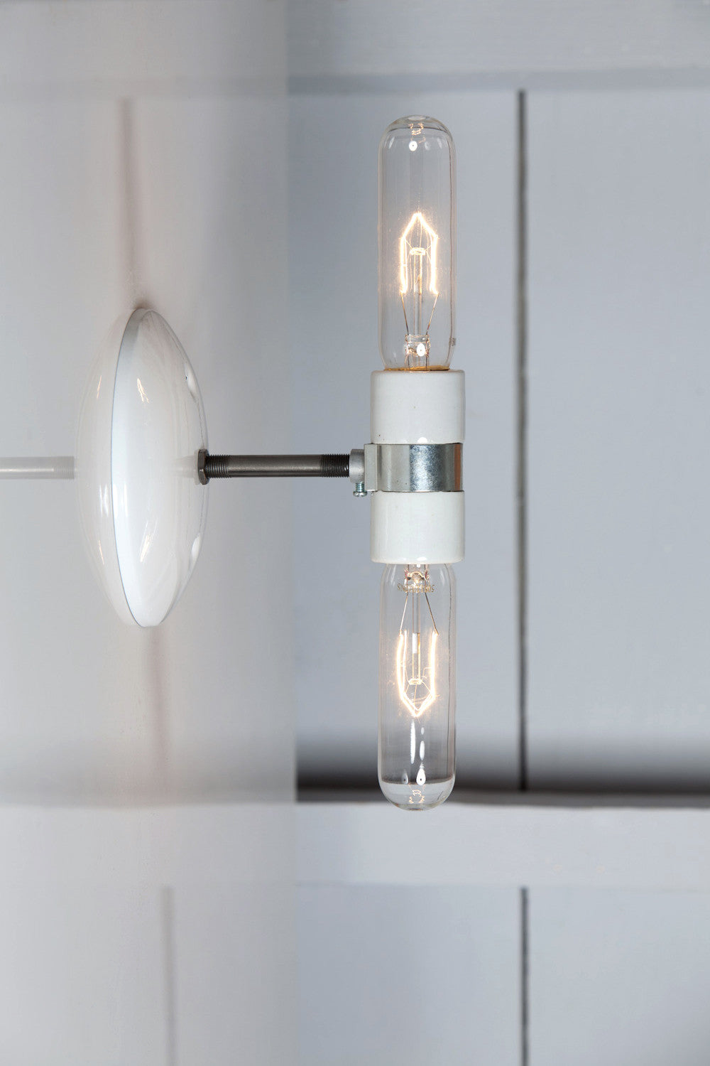 bare bulb lighting. Double Wall Sconce - Industrial Light Bare Bulb Lamp Lighting B
