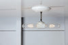 Double Ceiling Light - Semi Flush Mount - Industrial Light Electric - 3