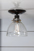 Glass Shade Light - Semi Flush Mount - Industrial Light Electric - 2