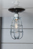 Ceiling Mount Cage Light - Industrial Light Electric - 2