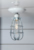 Ceiling Mount Cage Light - Industrial Light Electric - 1