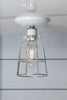 Industrial Cage Light - Ceiling Mount - Industrial Light Electric - 2