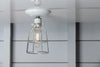 Industrial Cage Light - Ceiling Mount - Industrial Light Electric - 3