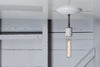 Semi Flush Mount Industrial Ceiling Light - Industrial Light Electric - 4