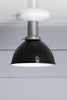 Black Shade Ceiling Light