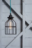 Industrial Pendant Lighting - Black Wire Cage Light - Industrial Light Electric - 1