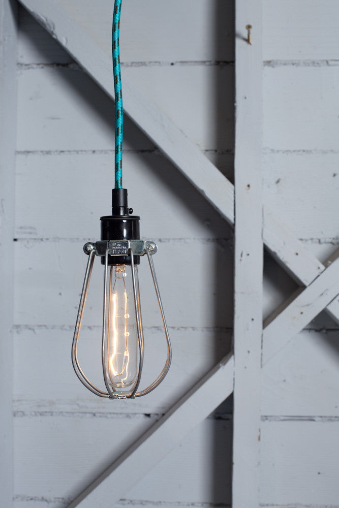Wire Cage Pendant Light - Industrial Light Electric - 1