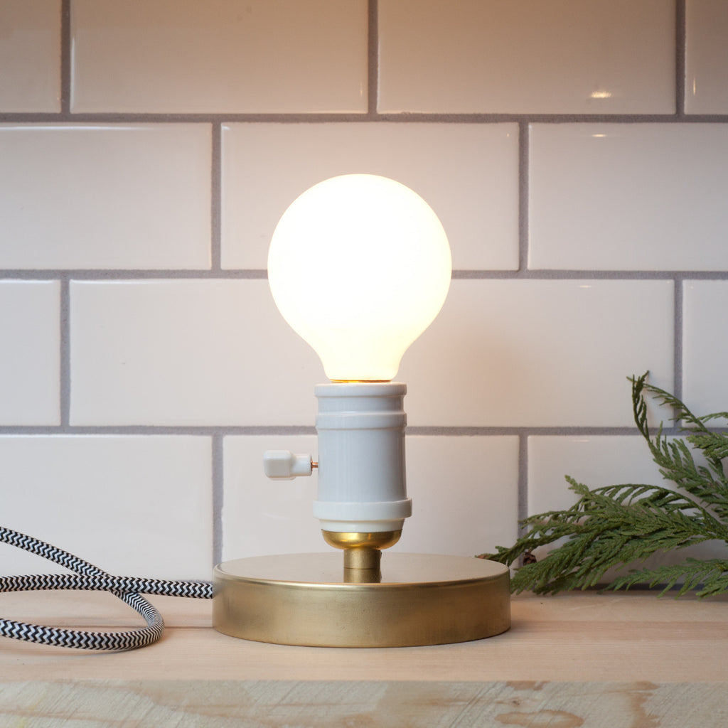 Brass Task Light