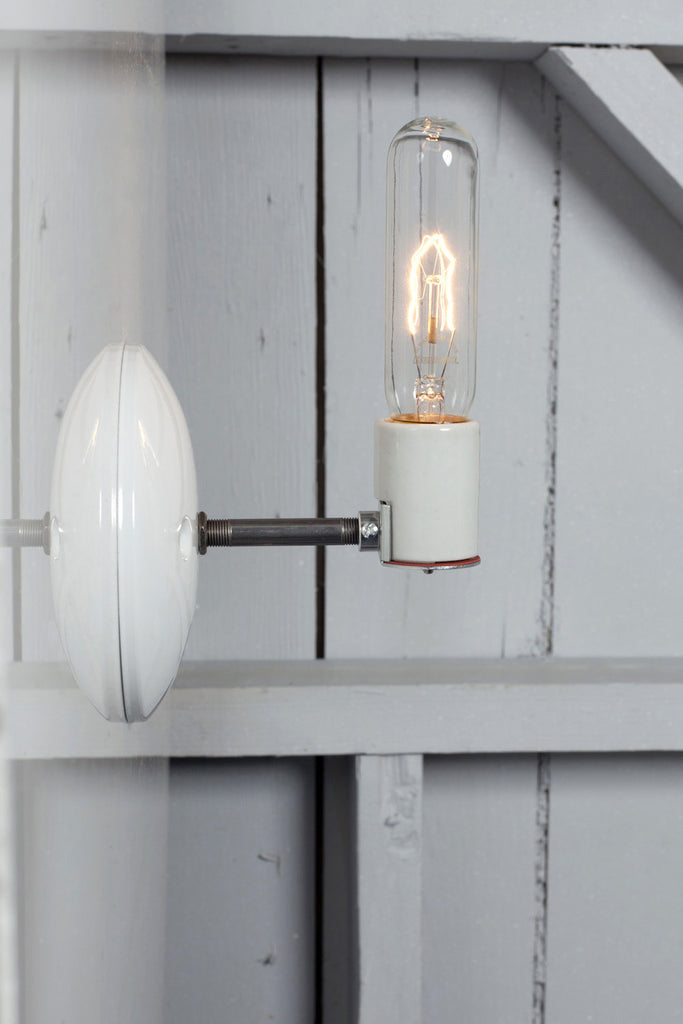 Industrial Wall Sconce - Bare Bulb Lamp - Industrial Light Electric - 1