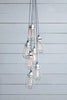 Wire Cage Chandelier - 7 Light Cluster