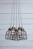 Black Industrial Chandelier
