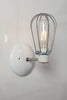 Industrial Wall Lamp - Wire Cage Wall Sconce Lamp - Industrial Light Electric - 2