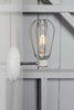 Industrial Wall Lamp - Wire Cage Wall Sconce Lamp - Industrial Light Electric - 1