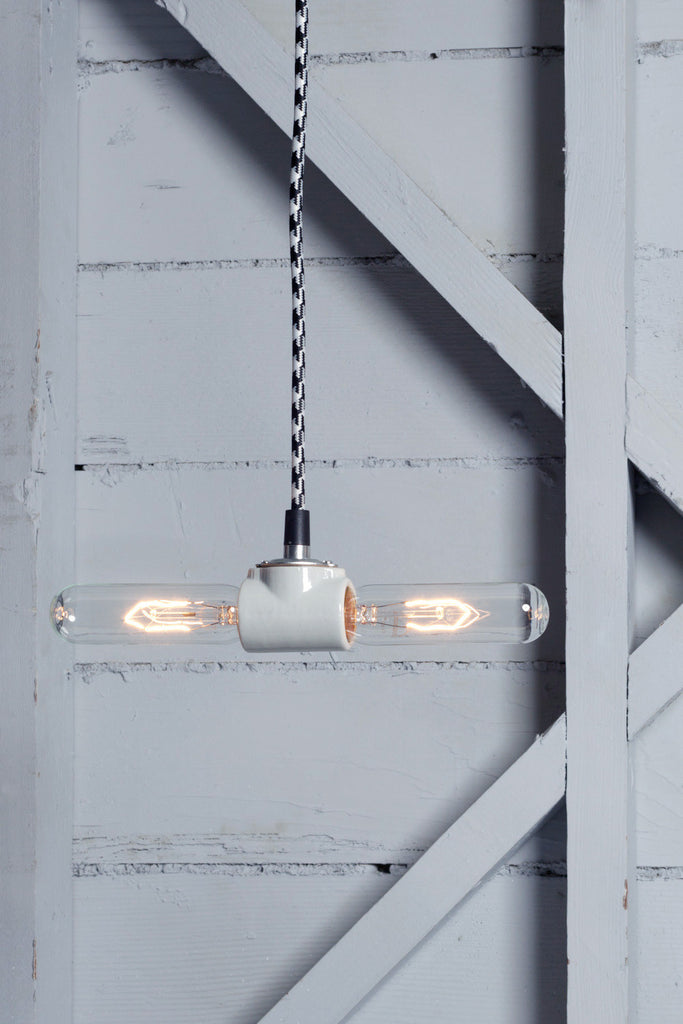 Industrial Pendant Light - Double Socket - Industrial Light Electric - 1