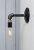 Industrial Black Pipe Wall Sconce Light - Bare Bulb Lamp - Industrial Light Electric - 3