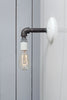 Industrial Black Pipe Wall Sconce Light - Bare Bulb Lamp - Industrial Light Electric - 6