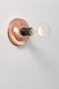 Copper Wall Mount Light - Bare Bulb - Industrial Light Electric - 9